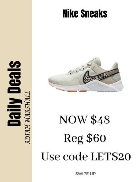 Nike leopard sneaks on sale!   #LTKSeasonal #LTKunder50 #LTKsalealert