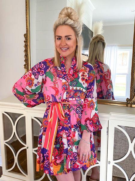 Multi colored dress! Size: SM