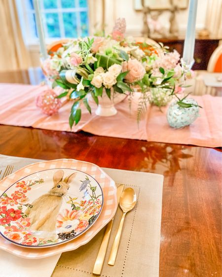 Getting my table ready for Easter at home http://liketk.it/2MMzl #liketkit @liketoknow.it #StayHomeWithLTK #LTKfamily #LTKhome @liketoknow.it.home Screenshot this pic to get shoppable product details with the LIKEtoKNOW.it shopping app
