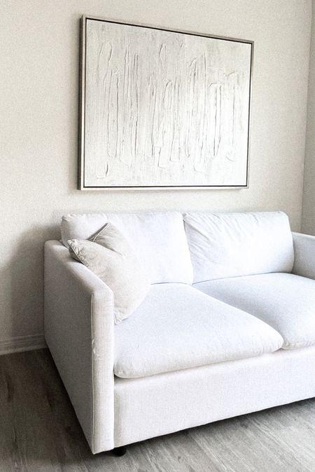 White couch http://liketk.it/3i0k3 #liketkit @liketoknow.it @liketoknow.it.home #LTKhome