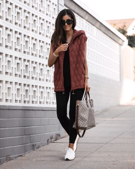 Athleisure style, free people style, quilted jacket, jeans, sneakers, tote bags, daily accessories, StylinByAylin   #LTKunder100 #LTKstyletip #LTKSeasonal