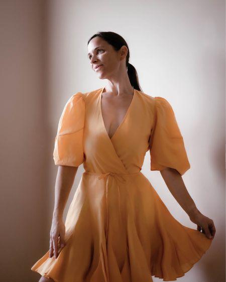 Dress rehearsal of rehearsal dinner dress ✨🥂🍾💛  #LTKSeasonal #LTKstyletip #LTKwedding