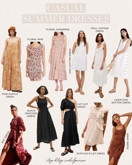 Casual summer dresses //   #LTKstyletip