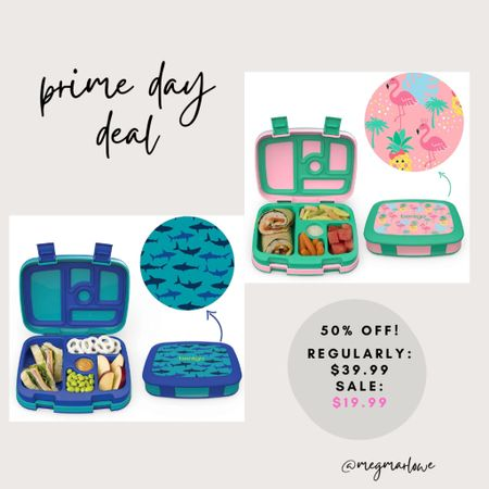Back to school bento boxes on sale for Amazon prime day   #LTKkids #LTKunder50 #LTKfamily