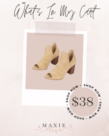 What's In My Cart - The Perfect Booties To Step Into Fall With 🍂  #whatsinmycart #fallshoes #booties #lulus #lulusshoes #fallfashion #fallbooties  #LTKshoecrush #LTKstyletip #LTKunder50