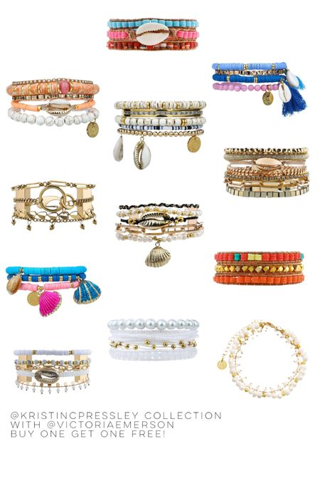 Kristin Coffey Pressley launched her bracelet collection with Victoria Emerson today! Boho bracelets, bra by bracelets, neutral bracelets, colorful bracelets,  Back to School NSale Fall Outfits Concert Outfits Teacher Outfits Nordstrom Anniversary Sale Nordstrom Sale Nursery Ideas Bathroom Decor Bedroom Furniture Bedding Collections Living Room Furniture Work Wear Business Casual White Dresses Cocktail Dresses Maternity Dresses Wedding Guest Dresses  #LTKunder50 #LTKsalealert #LTKstyletip
