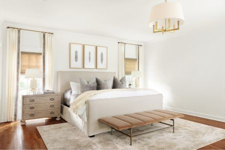 Main bedroom furniture, duvet and nightstands linked too! Full info on asoutherndrawl.com   #LTKhome