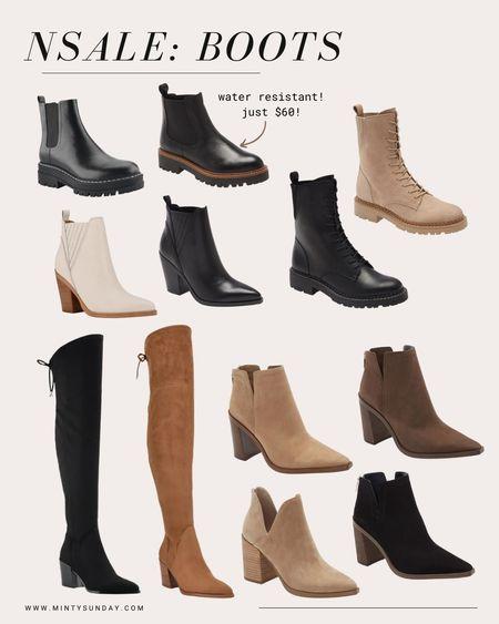 nordstrom anniversary sale, booties, boots, ankle boots #ltkshoecrush #ltkunder100 #ltksalealert