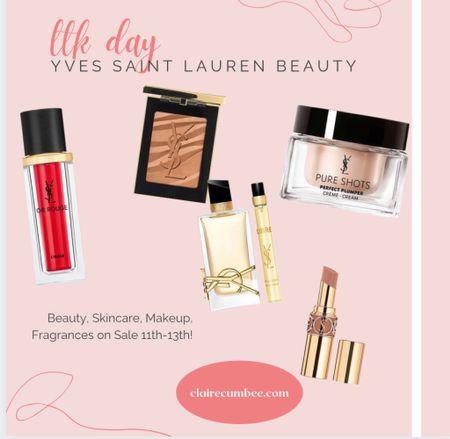 LTK day is here! Check out Yves Sant Lauren Beauty ( YSL ) Rouge Skincare, lipstick, serum, bronzer, designer beauty Huge sale! Perfume Fragrance  #LTKsalealert #LTKbeauty #LTKunder100  #LTKbeauty #LTKDay #LTKsalealert