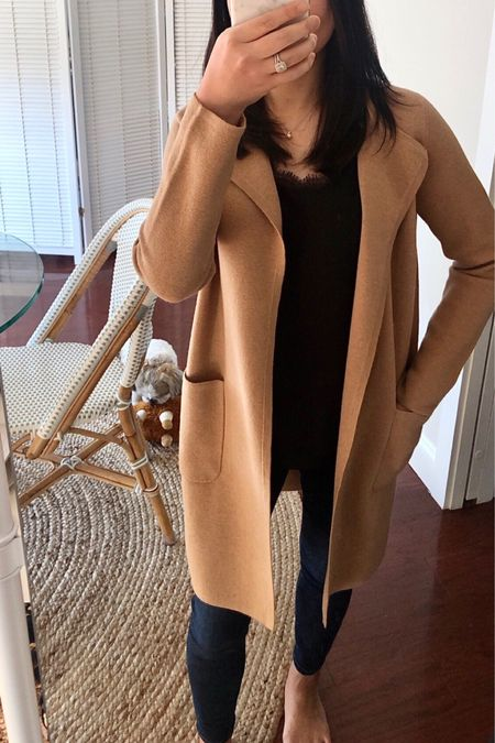 I took this cardigan in XXS. Cardmembers can use code CARDLOVE for an extra 20% off this month. This stacks with code GOBIG for 40% off right now (exclusions apply).   #LTKworkwear #LTKstyletip #LTKsalealert