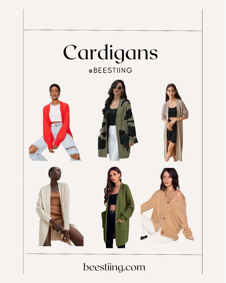 Cozy cardigans for fall on sale. Pair with jeans, sweats, dresses or sneakers!  Express | 40% OFF Nasty Gal | 60% OFF EVERYTHING Missguided | 50% OFF + Extra 20% OFF with code LABOR20  #LTKsalealert #LTKstyletip #LTKSeasonal