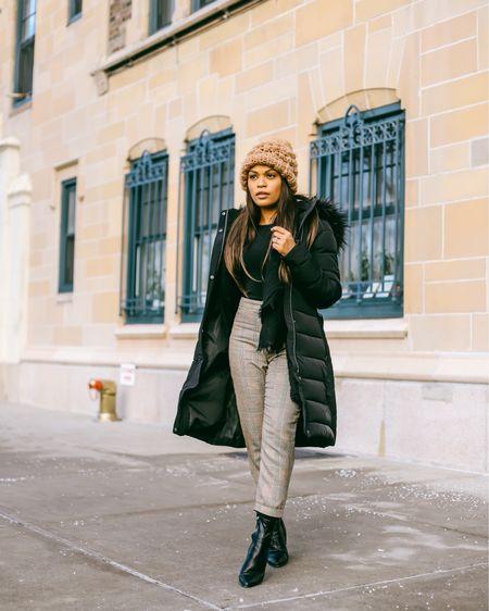 Leather booties Long winter coat Winter outfit  http://liketk.it/2AesU #liketkit @liketoknow.it #LTKsalealert #LTKshoecrush #LTKunder100 #LTKunder50 #LTKstyletip