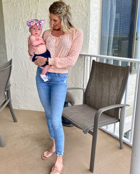 Abercrombie jeans, tts  @liketoknow.it.home @liketoknow.it.family #LTKDay #LTKsalealert #LTKstyletip @liketoknow.it #liketkit http://liketk.it/3gLju         Ltk sale day Abercrombie mom jeans Beach vacation  Beach outfit  Vacation outfits
