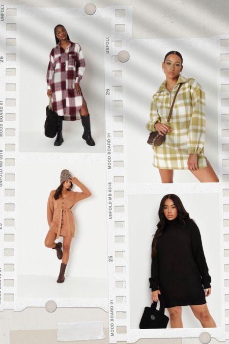 Fall dresses from Missguided  Fall dresses | sweater dress | blazer mini dress | shirt dress | smock dress | cardigan dress | oversized shirt dress | fall outfits | fall date night | fall family photos | #melisvida #ltkholiday #ltkgiftguide #ltkautralia #ltkbrasil #ltkcurves #ltkeurope #ltkfamily #ltkfit #ltksalealert #ltkunder50 #ltkunder100 #ltkworkwear  #LTKSeasonal #LTKstyletip #LTKSale