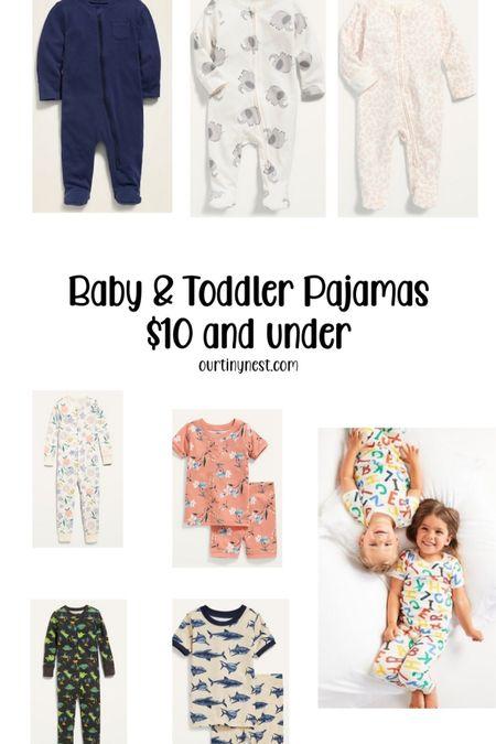 Baby and toddler pajamas . All $10 or less    http://liketk.it/3jIoJ #liketkit @liketoknow.it   #LTKbaby #LTKunder50 #LTKkids