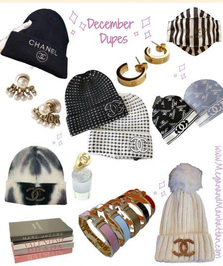 December Dupes under $50!  Chanel inspired beanies are my favorite ✨ the perfect gift idea   #LTKstyletip #LTKgiftspo #LTKunder50