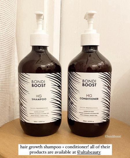 Hair growth shampoo and conditioner from Ulta beauty   #LTKstyletip #LTKbeauty #LTKunder50