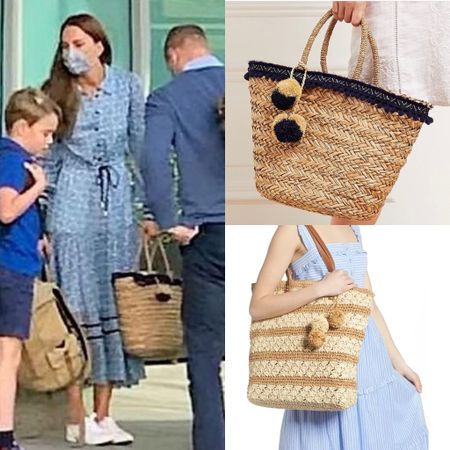 Kate inspired straw tote #vacation #suitcase #airport #travel  #LTKeurope #LTKstyletip