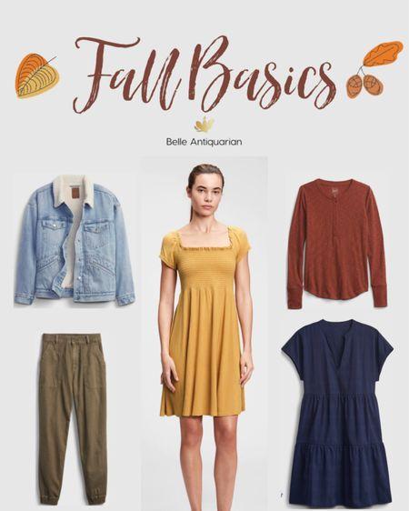 Fall basics you need in your wardrobe  #LTKstyletip #LTKunder50 #LTKsalealert
