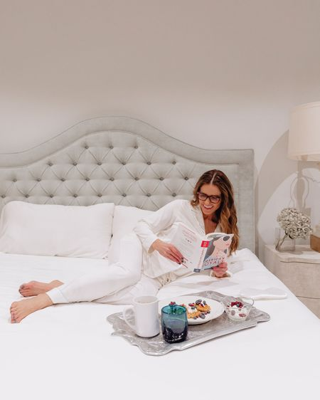 Holidays call for sleeping in, sales & always being thankful🤍🤍 Shop some of Oprah's Favorite Things for 50% OFF (for the next 24 hours only)!   My Organic Bamboo Sheet Set + Bamboo PJ Set in Ivory that also comes in shorts + 4 colors navy grey & black & pink too!   & SHOP the ENTIRE WEBSITE for 50% OFF with CODE: 'STREETSTYLE50'   This is a 24 hour FLASH SALE ONLY & will expire➰ Simply click the link in my bio to shop OR copy & paste this: https://glnk.io/182l/streetstylesquad    @liketoknow.it http://liketk.it/3gxbg #LTKsalealert #LTKhome #LTKfamily #liketkit