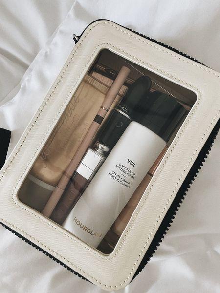 Clear neutral makeup case #beauty  #LTKbeauty