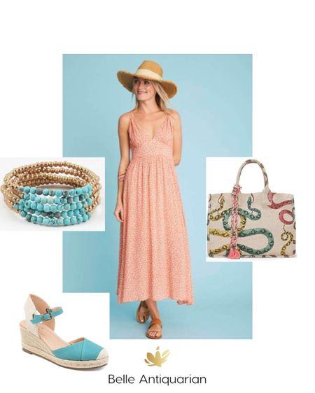 Summer dress outfit   Follow me on LIKEtoKNOW.it for more deals and dupes! @BelleAntiquarian     #LTKitbag #LTKSeasonal #LTKunder100