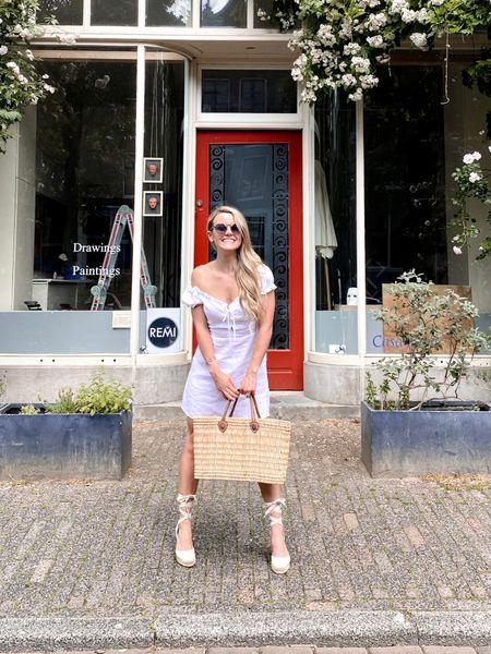 One of my favorite summer essentials - a white mini dress.    http://liketk.it/3fXLM #liketkit @liketoknow.it @liketoknow.it.europe