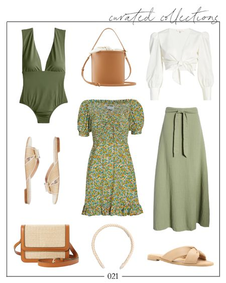 Green dress for summertime 🤍 Green dresses look good on everyone, IMO! Love the green one piece too!  green mini dress, green skirt, summer dress, summer dresses, #summerdress #greendress #greenminidress #greenskirt #summerdresses #greendresses