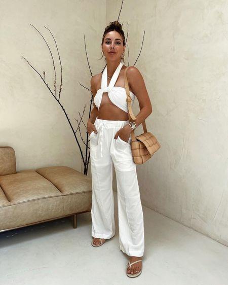 white outfit from amazon #amazonfashion #amazon #whiteoutfit #liketkit http://liketk.it/3gwr6 @liketoknow.it #LTKunder100 #LTKunder50