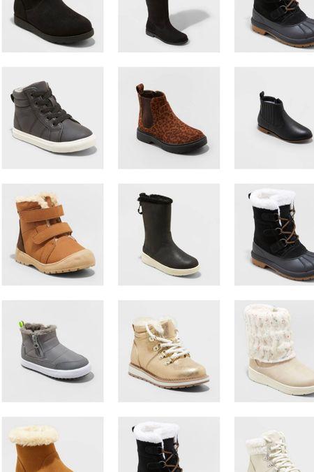 Finally stocked! New winter boots for kids! #targetfashion #snowboots #newarrival  #LTKSeasonal #LTKfamily #LTKunder50