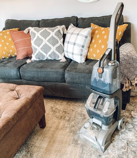 Yesterday I deep cleaned my rugs and sofas with my Hoover turbo scrub. I've owned this machine for over 6 years and I love it! With 2 dogs, a cat, and a 5 yr old our house gets DIRTY and this bad boy helps me freshen up all of our furniture without having to spend a ton for the pros to do it.   #LTKhome #LTKSale #LTKsalealert