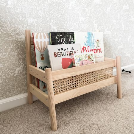 Little girl room. Girl decor. Home decor. Book display. Cane decor. This is a DIY- materials linked. http://liketk.it/3ijF1 #liketkit @liketoknow.it #LTKkids #LTKbaby #LTKhome @liketoknow.it.home @liketoknow.it.family