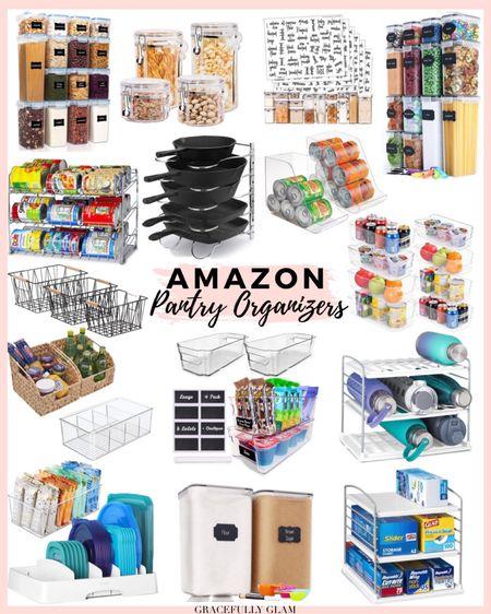 Amazon pantry storage and organizers  Amazon kitchen organization  Amazon home organization  Amazon home   http://liketk.it/3ige0        #liketkit @liketoknow.it #LTKunder100 #LTKunder50 #LTKhome @liketoknow.it.home