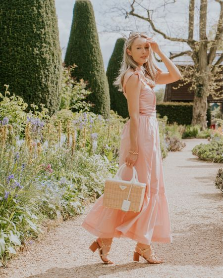 A pink dress summer outfit http://liketk.it/3gJab #liketkit @liketoknow.it #LTKwedding #LTKunder50 #LTKunder100
