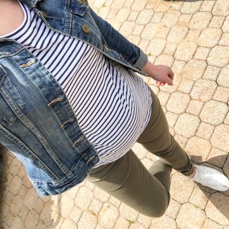 You really can't go wrong with striped basics from Vineyard Vines! This tunic is sold out, but their striped tees are just as comfy (size up a size if you're expecting!).   #LTKSeasonal #LTKunder100 #LTKbump