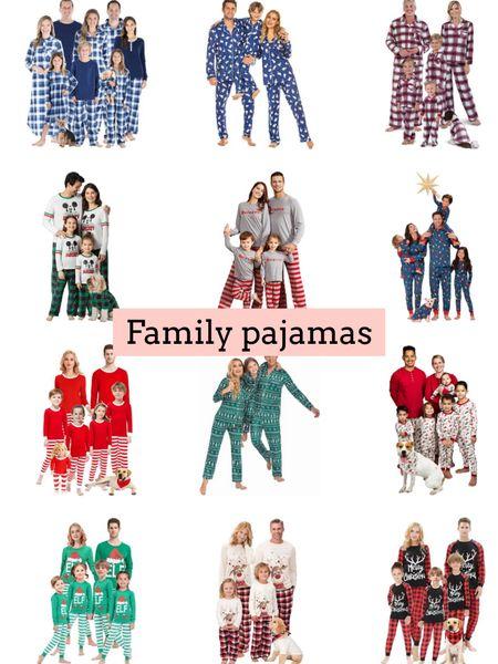 Family pajamas   #LTKfamily #LTKHoliday #LTKSeasonal