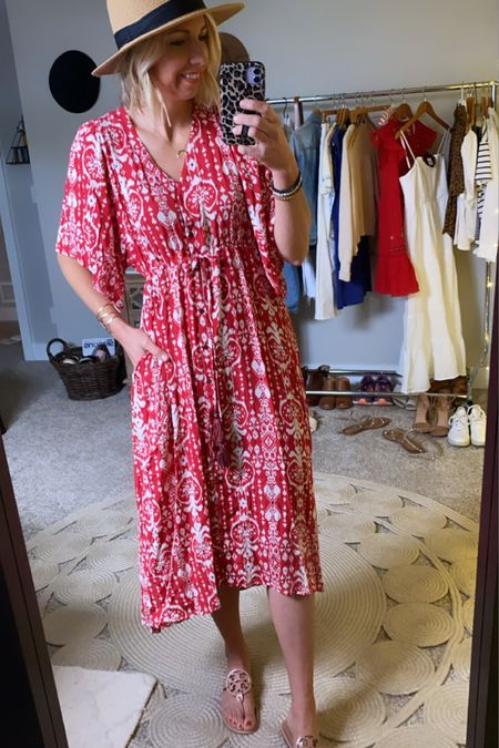 http://liketk.it/3gkMO #liketkit @liketoknow.it  Memorial Day outfit ideas... This gorgeous red dress is such a statement maker...for the pool, a bbq, for vacation & beyond! #LTKunder50 #LTKstyletip #LTKswim