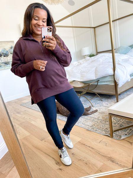 Abercrombie sweatshirts on sale. Wearing size large. Reg: $65 Now: $49   #LTKunder50 #LTKSeasonal #LTKsalealert