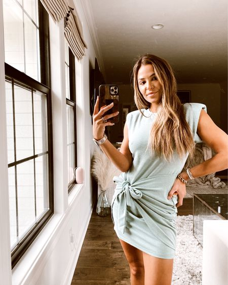 The cutest sage color wrap dress from my girl Ashlee's collection!! I'm wearing the XS http://liketk.it/3iiff #liketkit @liketoknow.it  #LTKstyletip #LTKunder100