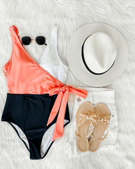 Amazon one piece swimsuit   http://liketk.it/3i1PL   #liketkit @liketoknow.it #LTKunder50 #LTKstyletip #LTKswim