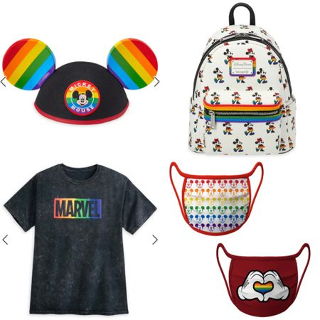 This new Pride collection from shopDisney is so cute! So many great products and this doesn't even scratch the surface 🌈 #disney #rainbow #pride #mickeymouse #disneystyle #shopdisney #marvel #loungefly #LTKunder50 #LTKunder100 #LTKitbag #liketkit @liketoknow.it http://liketk.it/3eIUh