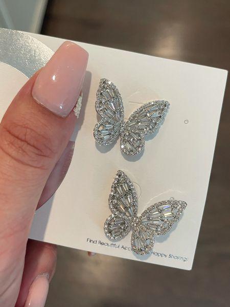 Amazon butterfly earrings   #LTKunder100 #LTKunder50 #LTKwedding