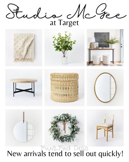 New arrivals from Studio McGee at Target! Perfect for a home refresh on a budget. Gorgeous styles and designs. Shop your screenshot of this pic with the LIKEtoKNOW.it shopping app #LTKhome #LTKunder50 #LTKunder100 http://liketk.it/3dU6H #liketkit @liketoknow.it