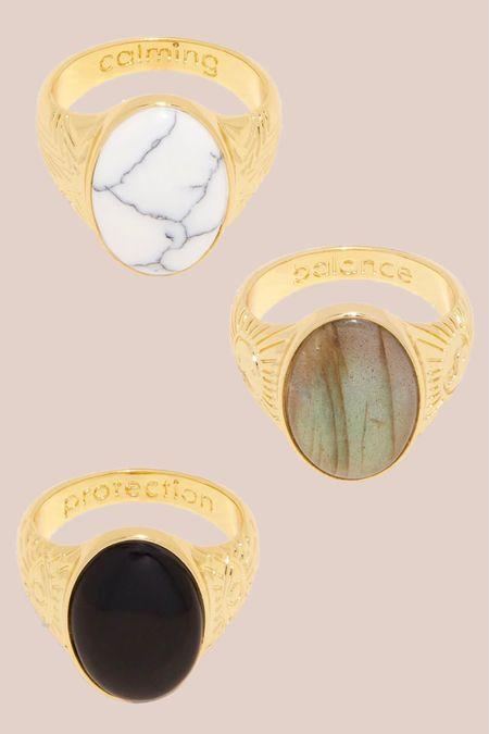 rings, jewelry, gold ring, accessories , signet ring, crystals, gemstone rings, metaphysical http://liketk.it/3iIfK #liketkit @liketoknow.it   #LTKunder100 #LTKstyletip #LTKwedding