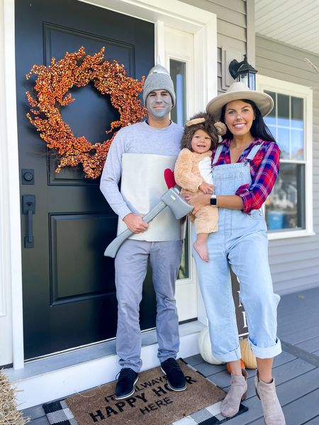 Family Halloween costume with a toddler! Wizard of oz, baby lion, lion costume, tin man, DIY costume   #LTKHoliday #LTKSeasonal #LTKfamily