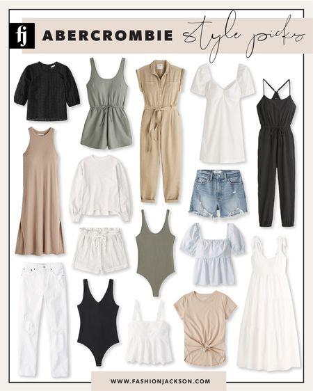 LTK Day sale summer style picks from Abercrombie! #summerdress #summertop #salealert #whitedress #jumpsuit #fashionjackson http://liketk.it/3huGO #liketkit @liketoknow.it   #LTKDay #LTKsalealert #LTKunder100