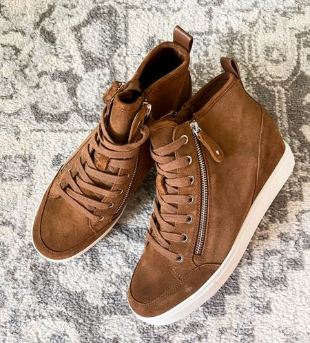 These Steve Madden wedge sneakers are going to be on repeat all Fall for me!! I can't believe how comfortable they are! #nsale Nordstrom Anniversary Sale Nordstrom sale   #LTKstyletip #LTKsalealert #LTKshoecrush