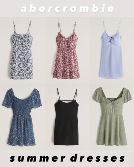I love these pretty short dresses for summer events! They are perfect for brunch with the girls, wedding guest dresses, date night, you name it! I love the floral patterns but the solids are also pretty. On sale for LTK day tomorrow!   #LTKSeasonal #LTKDay #LTKwedding
