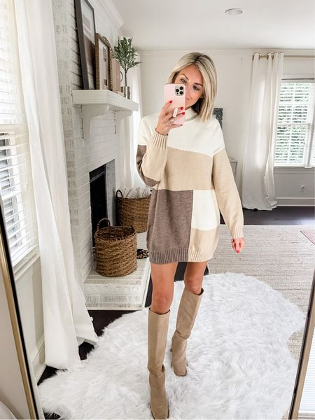 This color lock sweater is perfect for fall family photos, a date night, a visit to the pumpkin patch or a work wear option!   Code: Loverly20 for 20% off your order!  #LTKstyletip #LTKworkwear #LTKSeasonal