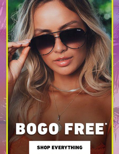 My favorite sunglasses are BOGO FREE!! Perfect stock up price for summer!!  #LTKbeauty #LTKsalealert #LTKfamily